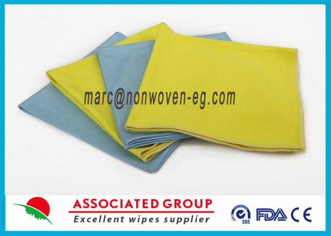 Non Woven Tool Multi Purpose Cleaning Wipes Washable Highly Absorbent Polymide For Cars