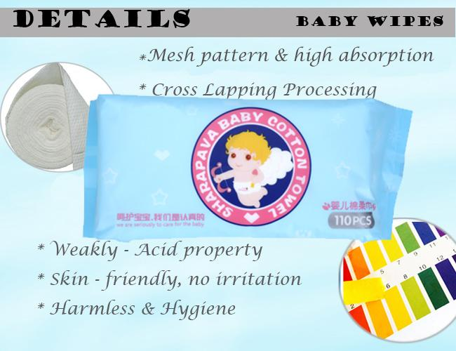 Skincare Dry Disposable Wipes Pure Cotton Material Harmless For Daily Cleaning