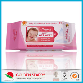China Newborns Unscented Alcohol Free Baby Wipes Chemical Free Non Woven supplier