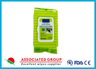 Non Toxic Pet Cleaning Wipes For Dogs , Cleaning Wet Wipes Disposable
