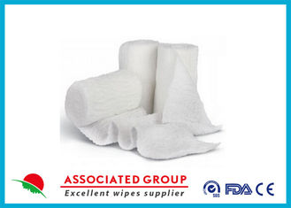 Stretch Cotton Gauze Bandage Rolls , X Ray Detectable Bandages