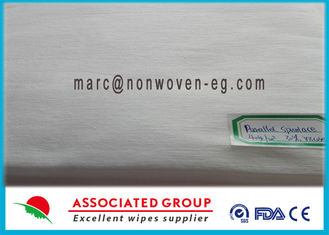 Hydrophilic Non Woven Fabric , Medical Non Woven Fabric Parallel Lapping