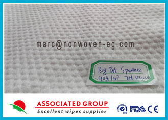 Spunlace Biodegradable Non Woven Fabric Lint Free Cross Lapping