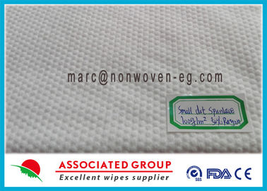 Small Dot Patterned Pet Non Woven Fabric 50% Vicose Extra Thick 100Gsm