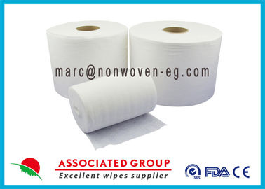 China Food Services Spunlace Nonwoven Fabrics High Saturation Rate Embossed supplier