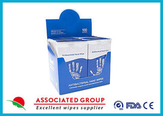 Individually Wrapped Portable Antibacterial Surface Wipes Thick And Durable