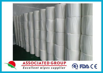 Disposable Eco Friendly Spunlace Nonwoven Fabric Viscose And Polyester