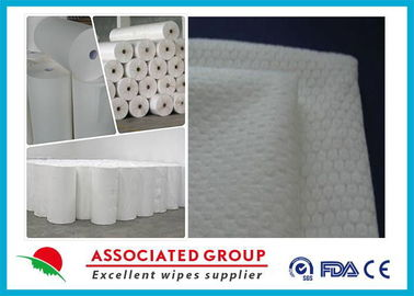 Extra Soft Hydrophilic White Spunlace Nonwoven Fabric No Chemical binder