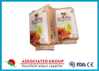 China Disposable Portable Disinfectant Wet Wipes Clean Hygiene & Sterilized 25pcs supplier