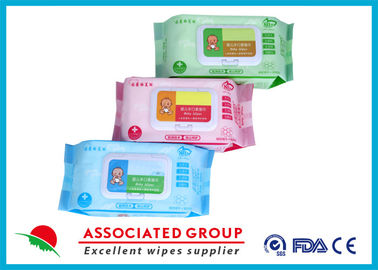 China Various Packages Baby Wet Wipes Plain Spunlace Nonwoven Bulk Alcohol Free supplier