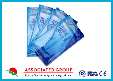 Individual Piece Wet wipes Restaurant Use Single Sheet Package Disinfected Wet Tissues