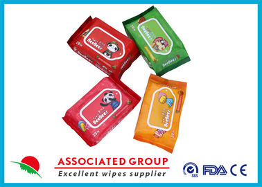 China Plant Vera Baby Wet Wipes 20pcs , Wet Tissue For Face Nonwoven Wet Tissues 55gsm supplier