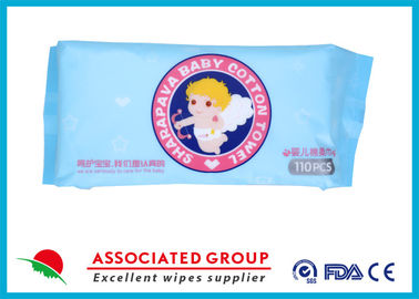 China Skincare Dry Disposable Wipes Pure Cotton Material Harmless For Daily Cleaning supplier