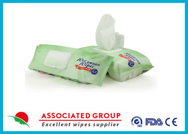 China Premium Pre-moistened Adult Cleaning Bathing Washcloths supplier