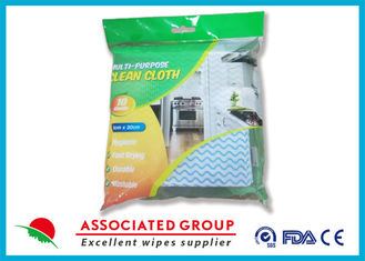 Customized Color Non Woven Cleaning Wipes , Unscented Cleaning Wipes For Household