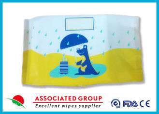100 % Super Absorbent Disposable Dry Wipes , Nonwoven Dry Cleaning Wipes