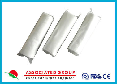 No Chemical Dry Non Woven Roll Plain Spunlace Breakpoint Dry Wipes No Irritation