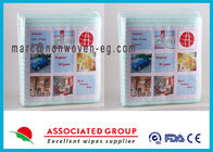 China Household Personalised Wet Wipes / Food Safe Wipes Unscented company