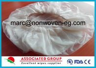 China White Microwaveable Comfort Shampoo Cap Rinse Free With Pe Film Lamination company