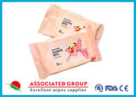 Feminine Hygiene Makeup Remover Wipes 10PCS Rinse Free Pure Cotton Makeup Cleaning