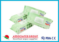Odorless Mild Adult Wet Wipes Medical Cleaning Tissue No Fragrance Disposable