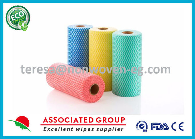 Disposable Fabric Cleaning Wipes Washcloths , Toilet Cleaning Wipes